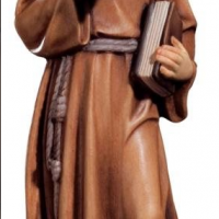 Hand-Carved St. Francis