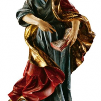 Hand-Carved St. Matthew