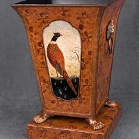 Hand Painted Pheasant Stand