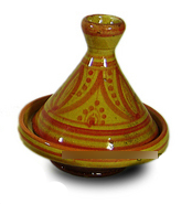 Hand Painted Tajine