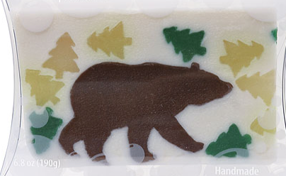 Handmade California Bear Soap