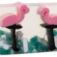 Handmade Flamingo Bar Soap
