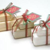 Holiday Gift Package of 2 French Soaps