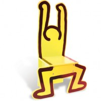 Keith Haring Chair, detail