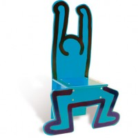 Keith Haring Chair, more detail