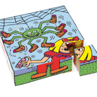 Keith Haring Cube Puzzle
