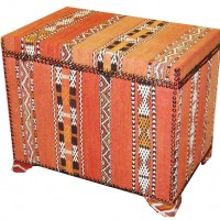Kelim Covered Trunk