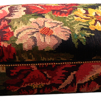 Large Floral Blanket Chest
