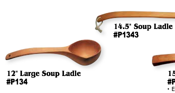 Long Handle Soup Ladles