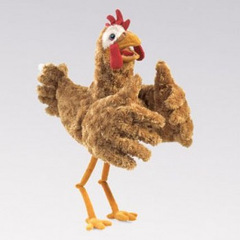Long Legged Chicken Hand Puppet