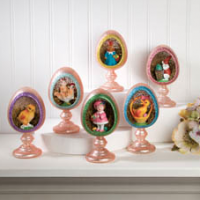 Mercury Glass Easter Decorations