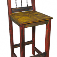 Mexican Painted Bar Stool