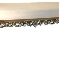 Mother of Pearl Inlaid Bench