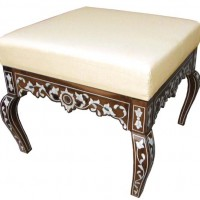 Mother of Pearl Inlay Ottoman