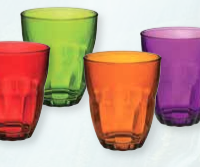 Multi Color Glass Set 38714
