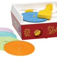 Playable Kids Record Player
