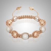 Rose Gold Diamond Pavé Bracelet