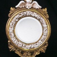 Round Angel Mirror