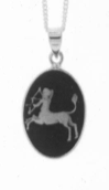 Sagittarius Cameo Horoscope Necklace