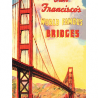 San Francisco Bridge Magnet