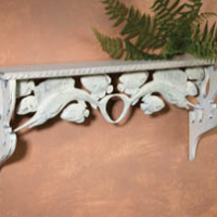 Seaside Carved Shelf