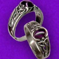 Silver Triskele Ring