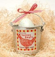 Single Egg Soap & Mini Bucket