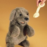 Sitting Dog Hand Puppet