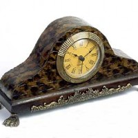 Small Footed Mantle Clock