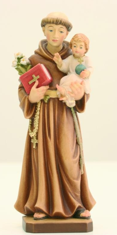 St. Anthony of Padova Woodcarving