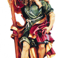 St. Christopher Woodcarving