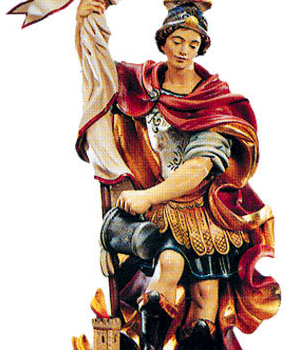 St. Florian Woodcarving