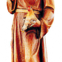 St. Francis Woodcarving