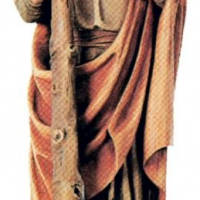 St. Jude Woodcarving