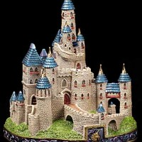 Stately Toy Castle