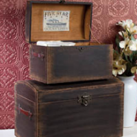 Steamer Trunk Set