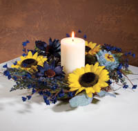 Summer Flower Candle Ring