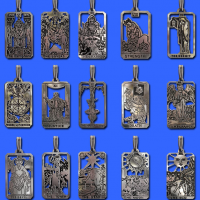 Tarot Card Pendants