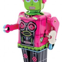 Tin Robot Wind-Up Toy