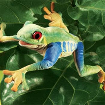 Tree Frog Hand Puppet