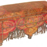 Tuareg Leatherwork Bench