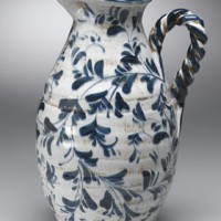 Twisted Handle Pitcher