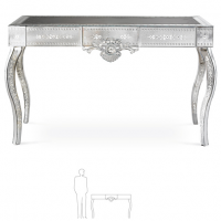 Venetian Mirror Console Table