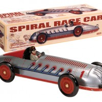 Wind-Up Race Car Toy
