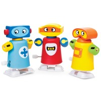 Wind-Up Walking Robots