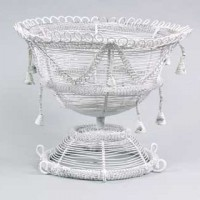 Wire Compote Fruit Basket