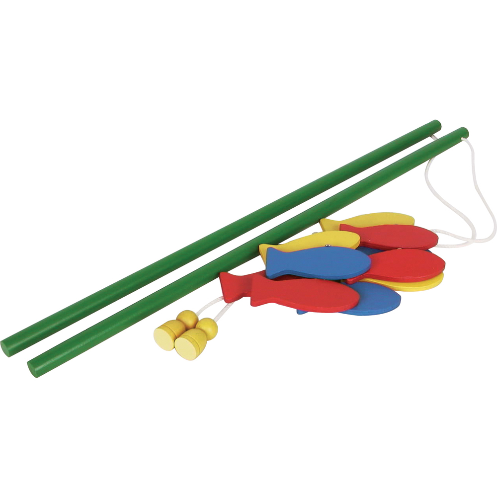 Wooden Fishing Game