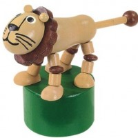 Wooden Lion Press Puppet