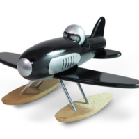 Wooden Seaplane Toy
