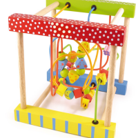 Wooden Toddler Playset